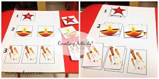 diwali festival themed toddler activities mumma diaries