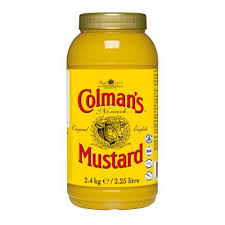 colman s mustard colman s mustard 2 25l unilever food solutions uk