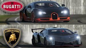 bugatti veyron vs lamborghini veneno bugatti veyron vs lamborghini veneno top gear track you might