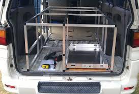 mitsubishi delica 2015 mitsubishi delica l400 lwb campervan conversion comfortably lost