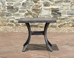 Griffith Metal Outdoor Furniture by Metal Patio Side Table
