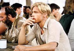 brad pitts haircut in seven brad pitt seven years in tibet interview 9 11 1997 brad pitt