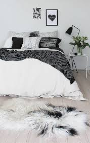 bedroom ideas awesome cool black white bedroom black bed