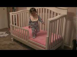 Baby Crib Convertible To Toddler Bed Bye Crib Hello Toddler Bed