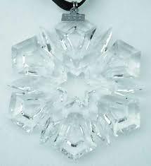 426 best swarovski snowflakes images on snowflakes