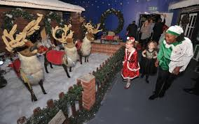 see inside house of fraser grotto and what to expect when you see