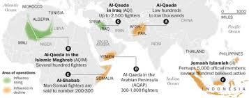 Mali World Map by Al Qaeda U0027s World A Fascinating Map Of The Group U0027s Shifting Global