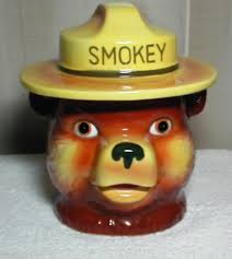 smokey the by norcrest collector cookie jar collector