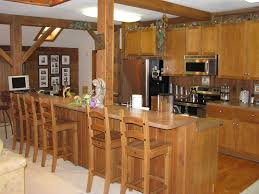 rustic kitchen with high ceiling u0026 columns in rockford il