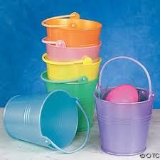 easter pails the easter pails easter time easter