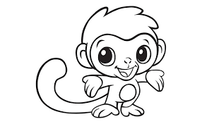 monkey coloring pages pdf monkey coloring pages pdf archives