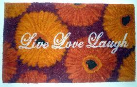 geo crafts live love laugh doormat u0026 reviews wayfair