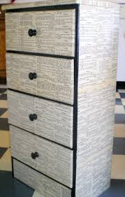 black and white and easy drawer set dresser books and plays