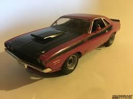 Dodge Challenger Decals - 1970 dodge challenger scaledworld