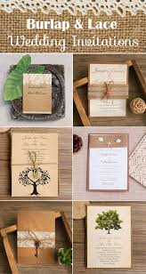 Rustic Wedding Invites The Most Complete Burlap Rustic Wedding Ideas For Your Inspiration