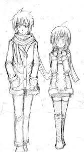 couple sketching by ryuzaku on deviantart