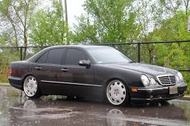 mercedes 2002 e320 slammed c23t 2002 mercedes e classe320 awd sedan 4d specs