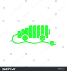electric vehicles symbol electric car logo template sign icon stock vector 338283779