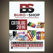 catalogue fourniture de bureau pdf créer la page de garde du catalogue buro shop 2016 postcard flyer
