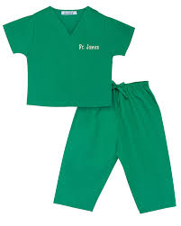 Inexpensive Children S Clothing Amazon Com Personalized Scrubs For Baby And Children Clothing