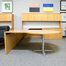 U Shaped Home Office Desk Office Desk Maple Office Desk U Shaped In Secret Chocolate Or