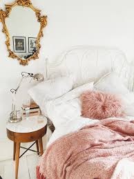 Pink Gold And White Bedroom Young Modern Vintage Bedroom Vintage Teen Bedrooms Teen And