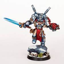 tutorial how to paint grey knights
