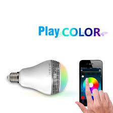 Bluetooth Light Bulb Speaker Smart Led Bulb Light Wireless Bluetooth Speaker 110v U2013 240v E27 3w