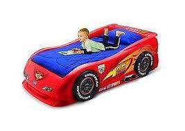 Ferrari Bed Car Beds Childrens Bedroom Ebay