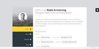 Best Personal Resume Websites by Best Vcard Wordpress Themes 2017 For Your Online Resume Personal