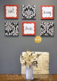 kitchen wall decor sets quote wall art wedding vow art