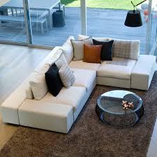 custom sectional sofa rio apartment bumper sectional luna custom