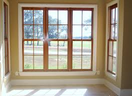 white wood blinds with oak trim business for curtains decoration