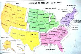 United States Map Regions by Vintage World Map With Countries Brown Grunge Art Background Style