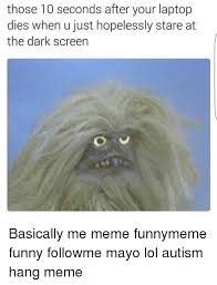 Meme Laptop - those 10 seconds after your laptop dies when u just hopelessly stare