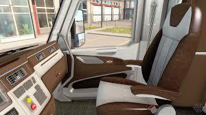 new color peterbilt 579 interior for american truck simulator