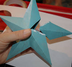 tutorial make an attractive 3d paper star decoration paper