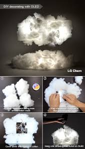 how to make a cloud light how to create cloud lighting using low heat lightweight oled