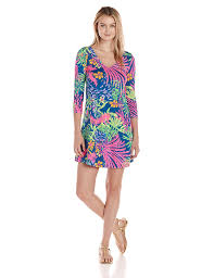 Lilly Pulitzer Baby Clothes Lilly Pulitzer Women U0027s Erin Dress All A Glow At Amazon Women U0027s