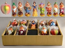 christopher radko snow white seven dwarfs ornament at