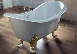 slipper bathtubs design to provide more relaxing bath and