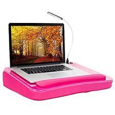 Laptop Desk With Cushion Sofia Sam Desk With Usb Light Pink Memory