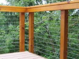 Ideas For Deck Handrail Designs Best 25 Wire Deck Railing Ideas On Pinterest Deck Railings