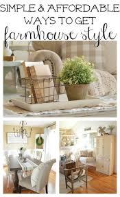 Farmhouse Style Home Decor by Farmhouse Decorating Style Home Design Ideas