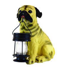 gsl ssgslb5196 energy saving pug with lantern solar light ebay