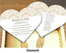 fan shaped wedding programs great fan shaped wedding invitations ideas invitation card ideas