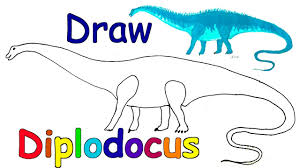 how to draw dinosaurs draw animals coloring pages kids learn