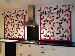 modern kitchen blinds home design ideas these lovely blinds with coordinating pelmets have brightened up a modern kitchen