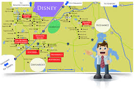 Map Orlando Florida by Orlando Vacation Homes For Sale