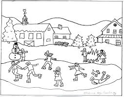 winter coloring pages for kids throughout coloring pages for kids